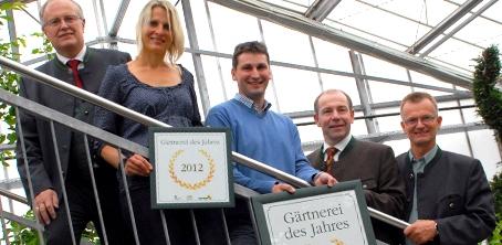 Gärtnerei des Jahres 2012