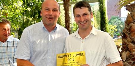Umwelt-Juwel 2013